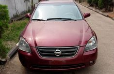 Nissan Altima 2002 Red for sale