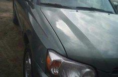 Clean Toyota Highlander 2006 Green for sale