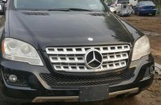 Mercedes-Benz ML350 2009 Black for sale