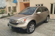 Honda CR-V 2.4 EX Automatic 2008 Gold for sale