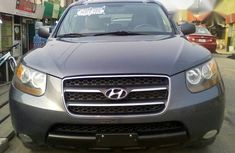 Hyundai Santa Fe 2008 Gray for sale