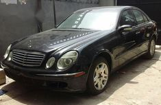 Mercedes-Benz E320 2003 Black for sale