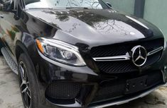 Mercedes-Benz GLE 450 2016 Black for sale