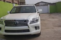 White Lexus LX 2015 ₦38,000,000 for sale