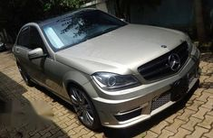 Mercedes-benz C350 AMG 2012 Silver for sale