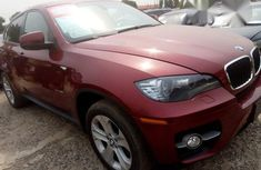Clean Neat BMW X6 2011 Red for sale