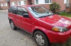 Honda HR-V 2002 Red for sale