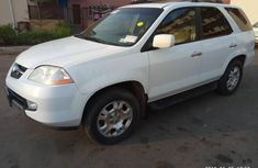 Acura MDX 2002 White for sale