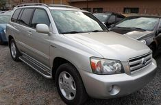 tokunbo Toyota highlander for sale