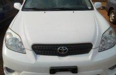 Mannual Toyota Matrix 2007 White for sale