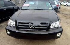 Black Toyota Highlander 2004 for sale