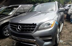 Mercedes-Benz ML350 2013 Petrol Automatic Grey/Silver
