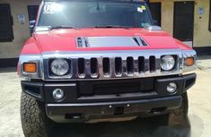 Hummer H2 SUV 2007 Red for sale