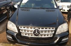 Mercedes-Benz ML350 2010 Petrol Automatic Black