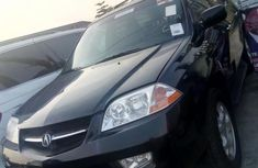 Tokunbo Acura MDX 2002 Black for sale