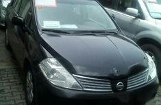 Nissan Tiida 2007 Black for sale