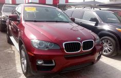 BMW X6 2013 red automatic for sale