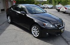 Lexus IS 350 2010 Black for sale