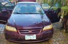 Honda Accord 2002 Purplefor sale