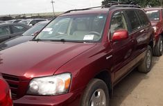 2005 Toyota Highlander Automatic Petrol well maintained