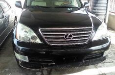 Lexus GX 2004 Petrol Automatic Black for sale