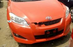 Red Foreign 2010 Toyota Matrix for sale