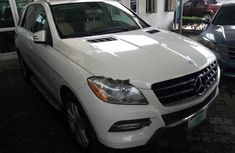 Mercedes-Benz ML350 2014 Diesel Automatic White
