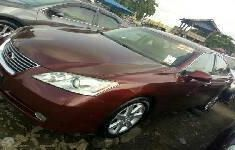 Toyota ES 2012 Petrol Automatic Red
