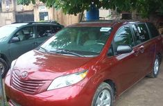 Toyota Sienna 2011 Red for sale
