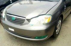 Toyota Corolla 2005 Petrol Automatic Grey/Silver For Sale