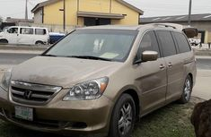 Gold Domestic 2006 Honda Odyssey for sale