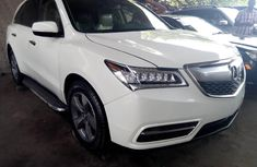 Acura MDX 2014 Petrol Automatic White for sale