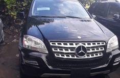 Mercedes-benz ML350 2010 Black for sale