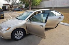 Golden 2007 Toyota Camry for sale in Lagos