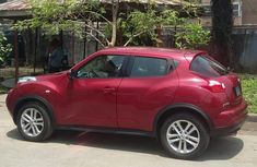 Nissan Juke 2012 Red for sale