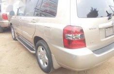 Toyota Highlander Limited 2007 Gold for sale