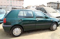 Clean Volkswagen Golf 2005 Green For Sale