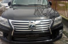 Lexus LX 2013 Petrol Automatic Blue for sale