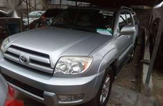 2003 Toyota 4 Runner Silver for sale