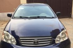 2004 Toyota Corolla LE Registered for sale