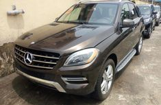 foreign used 2013 mercedes benz ml350 for sale