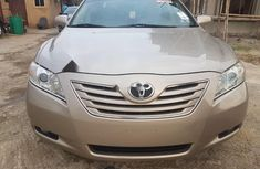 2008 Toyota Camry gold automatic for sale