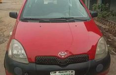 Manual 2door Toyota Yaris red for sale