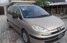 2007 Peugeot 807 Clean Nigerian Used for sale