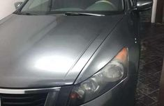 Very Neat Registered 2008 Honda Accord gray for sale