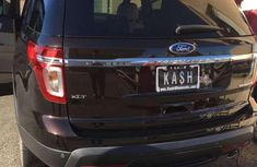 Almost brand new Ford Explorer Petrol 2014 for sale