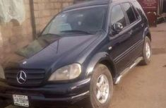 2002 First body Mercedes-Benz ML320 for sale