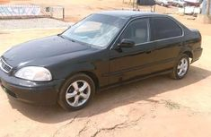 Clean Honda Civic 2002 Model Black for sale