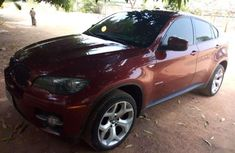 BMW X6 2010 Red for sale