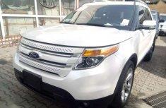 Ford Explorer 2013 white for sale